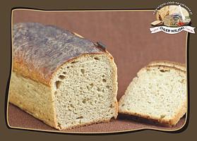 jasny żytni chleb na zakwasie