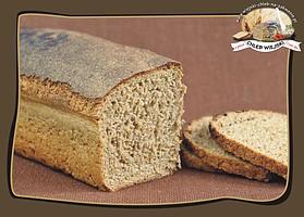 ciemny śrutowy żytni chleb na zakwasie