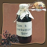 Naturalny sok z czarnego bzu
